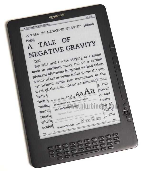 Cambiar el tamaño de la letra en un eBook reader