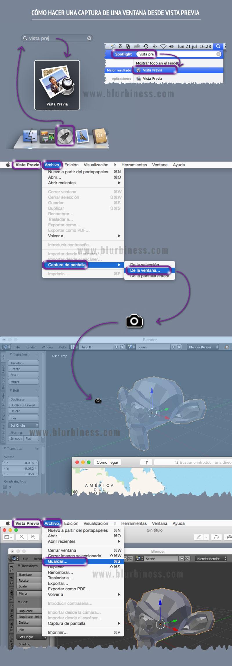Cómo hacer una captura de una ventana desde Vista Previa en Mac
