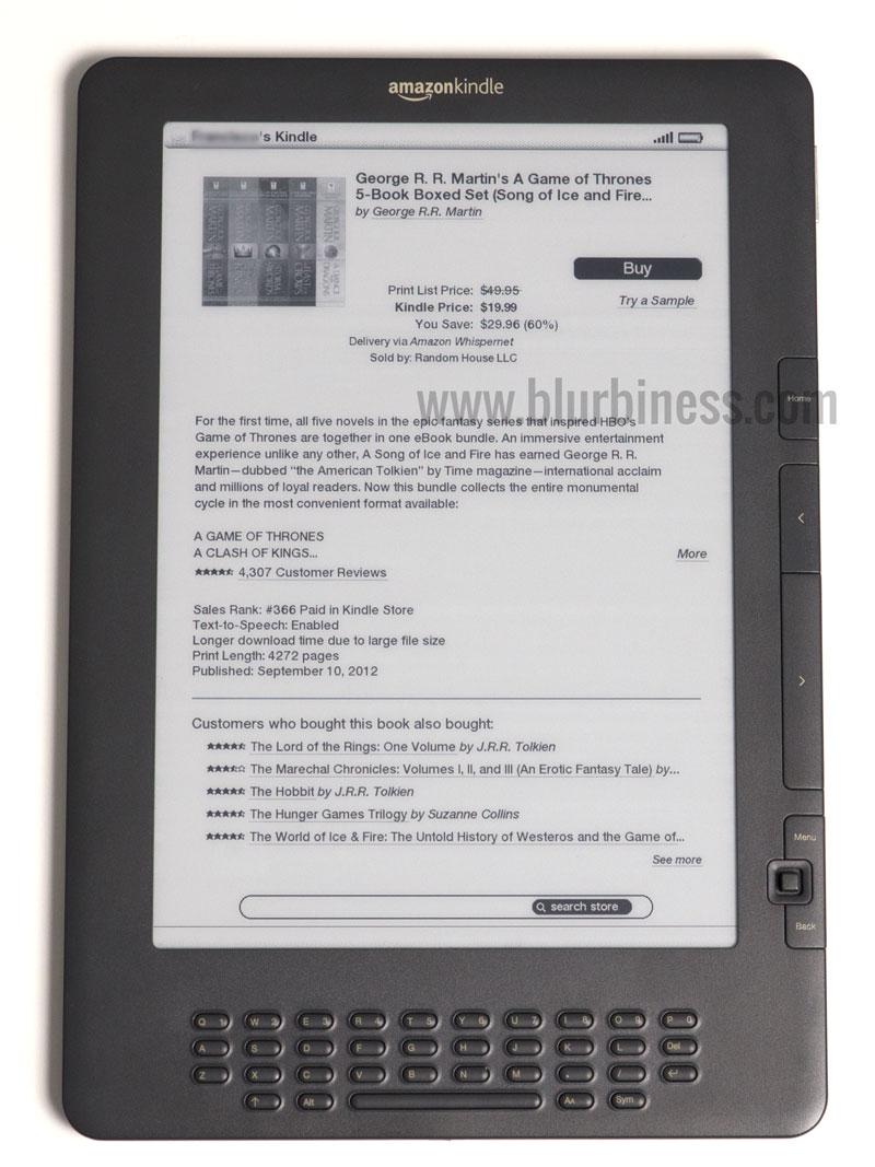 Comprar ebooks desde el Amazon Kindle