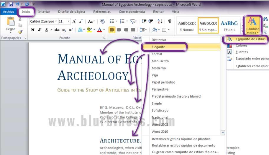 Escribiendo con estilos en Microsoft Word | Diseño web y producción ...