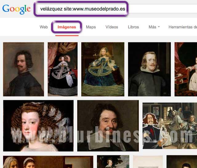 Google buscar site imágenes