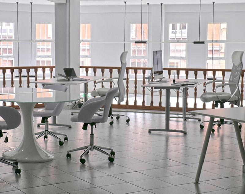 Oficinas Blurbiness zona de oficina