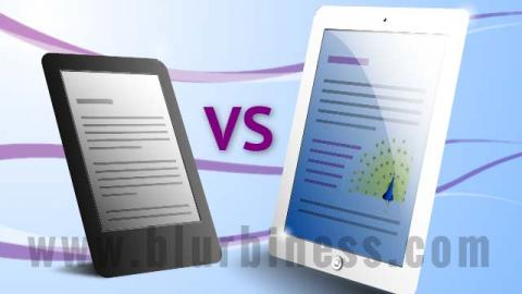 Ebook reader vs tablet